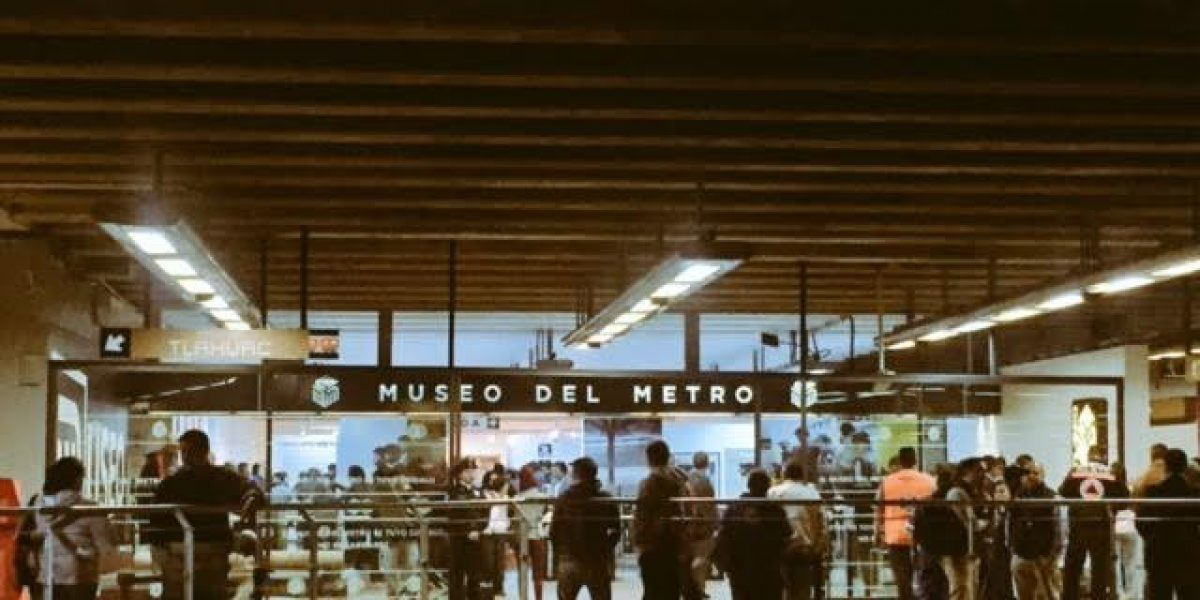 Esto es lo que verás en el primer Museo del Metro en la CDMX