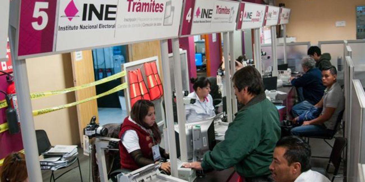Advierte INE vencimiento de plazos para tramitar credencial por robo