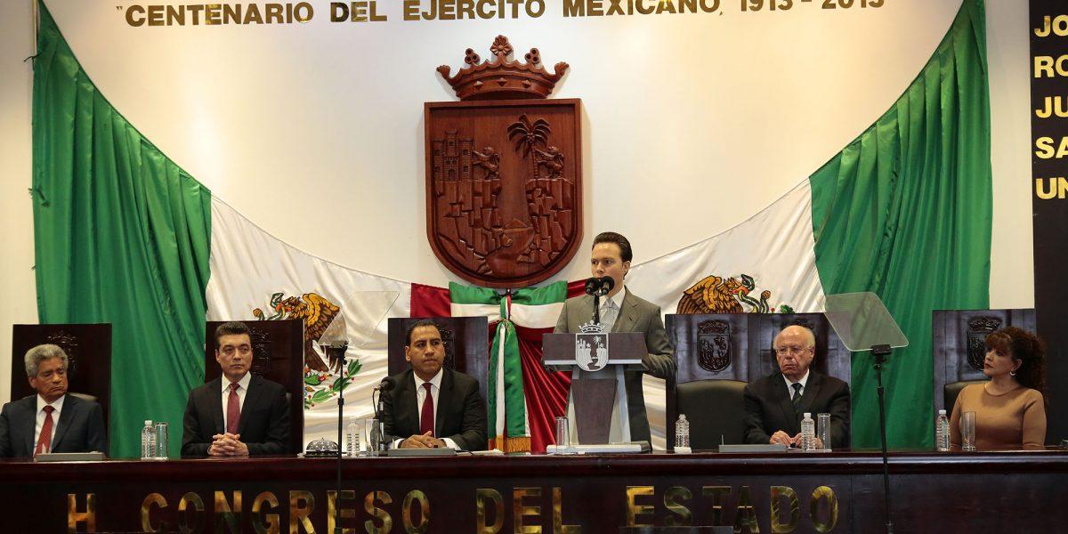 Velasco Coello exhorta a apoyar mercado interno en su Cuarto informe en Chiapas