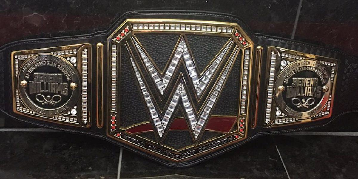 WWE entregará cinturón de campeona a Serena Williams