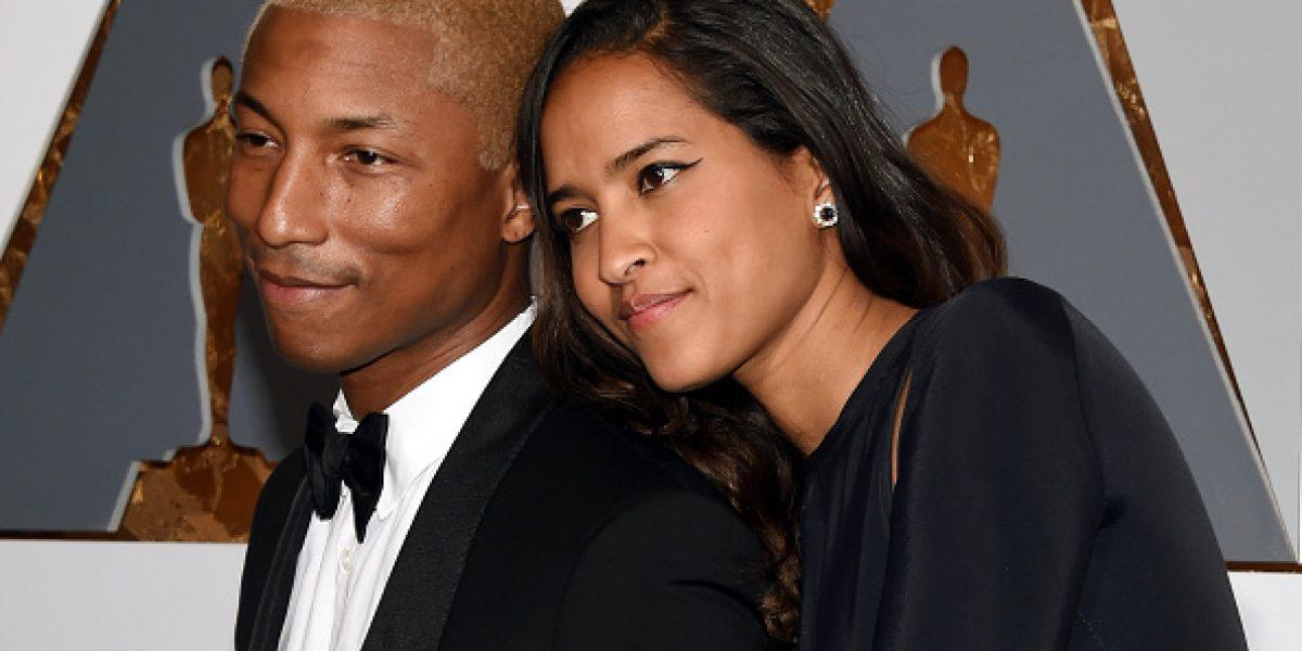 """Pharrell Williams es triplemente """"Happy"""" con llegada de sus trillizos"""