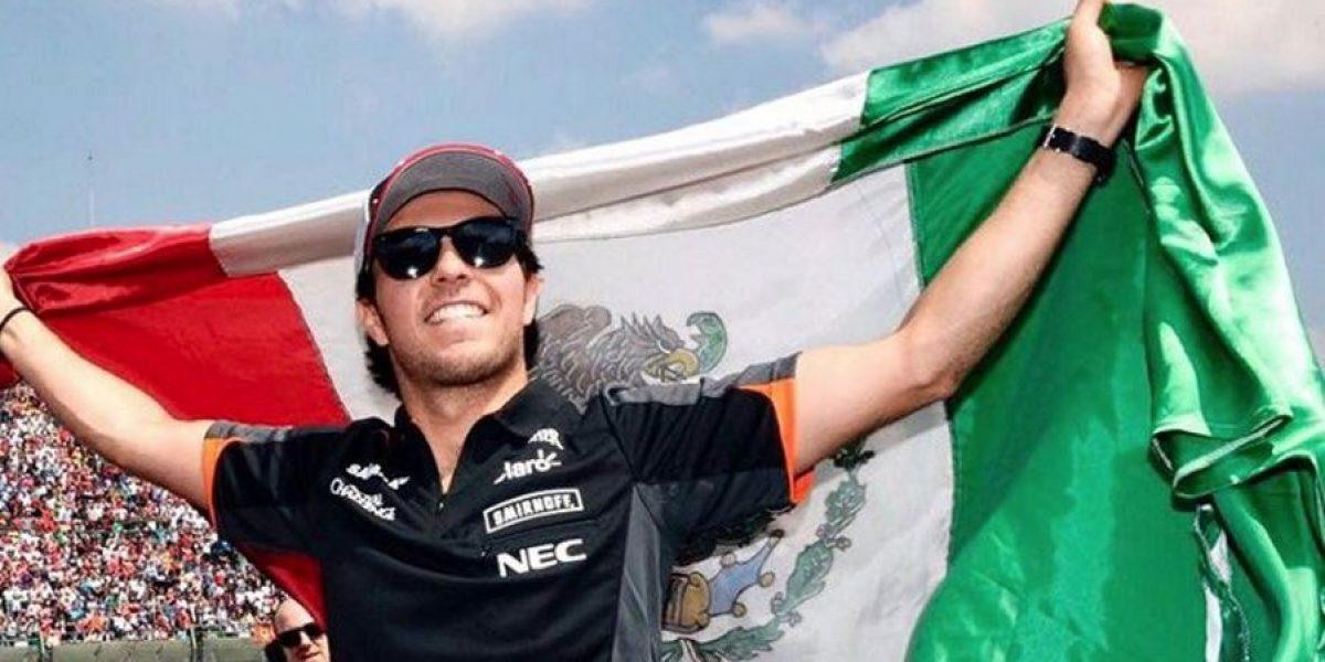 Checo Pérez vuelve a defender a México de Trump