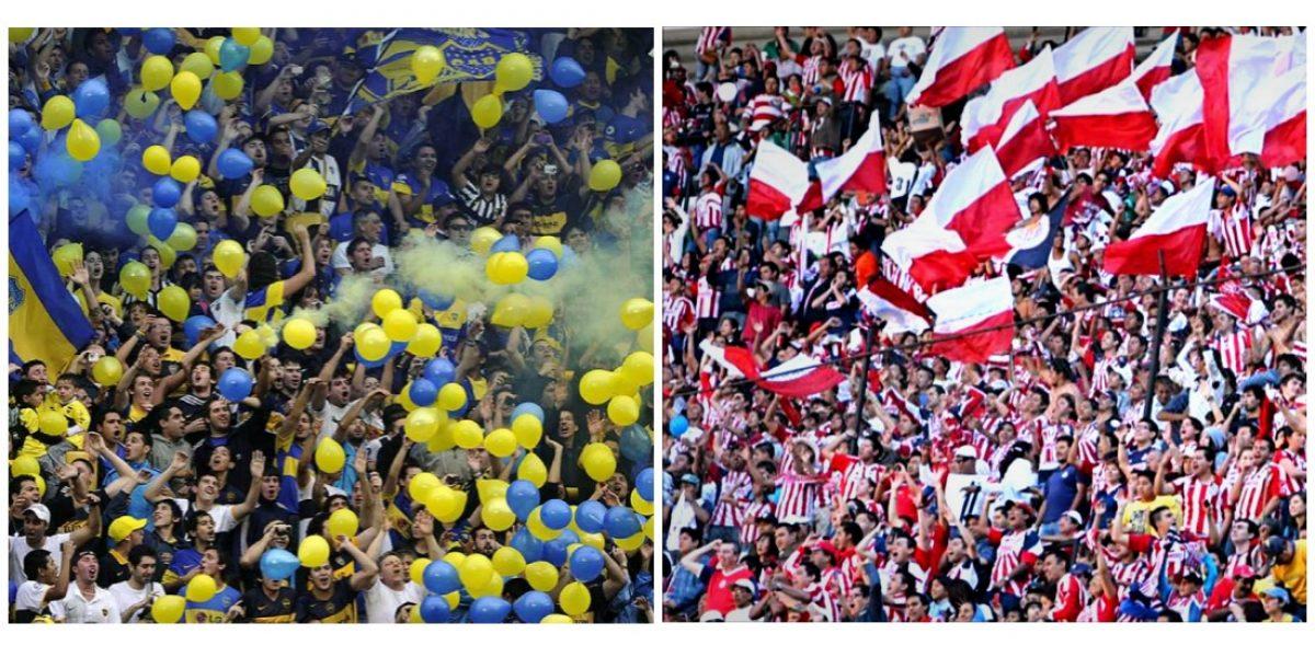 Afición de Boca Juniors se burla de Chivas previo al 'Duelo de Gigantes'
