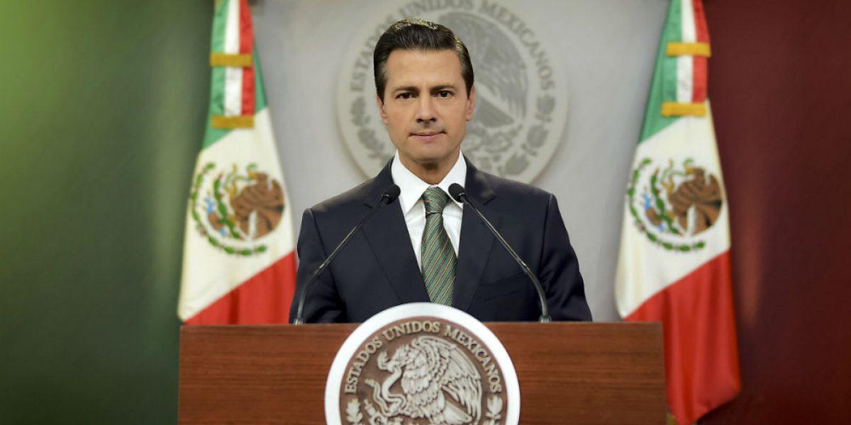 Me siento orgulloso de ser presidente de un gran pueblo: Peña Nieto