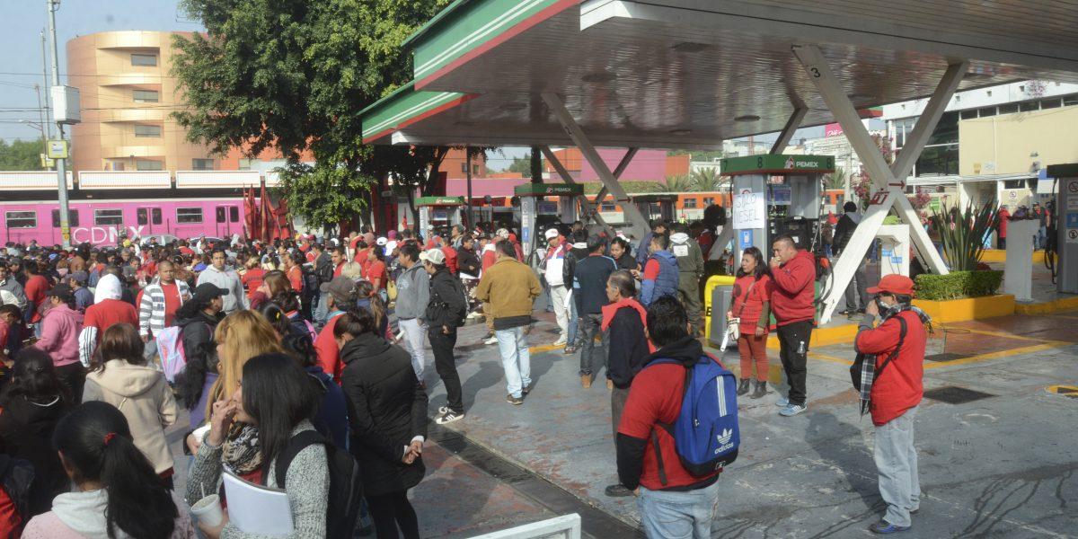 Marchas provocarán caos vial este martes en la CDMX