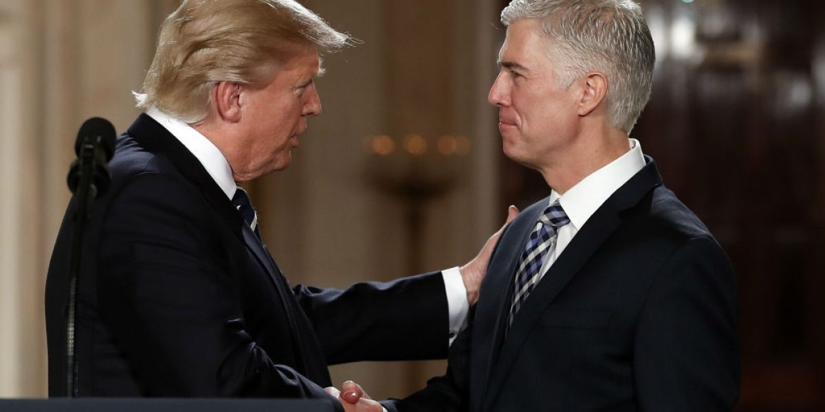 Trump nomina a Neil Gorsuch como ministro de la Corte Suprema