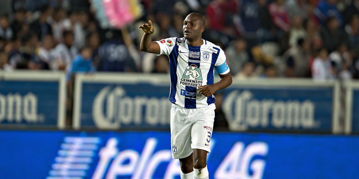 Aquivaldo Mosquera regresa al futbol mexicano