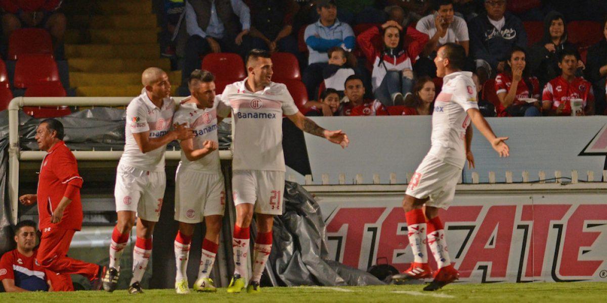 Toluca sufre para superar al Veracruz en la Copa Corona MX
