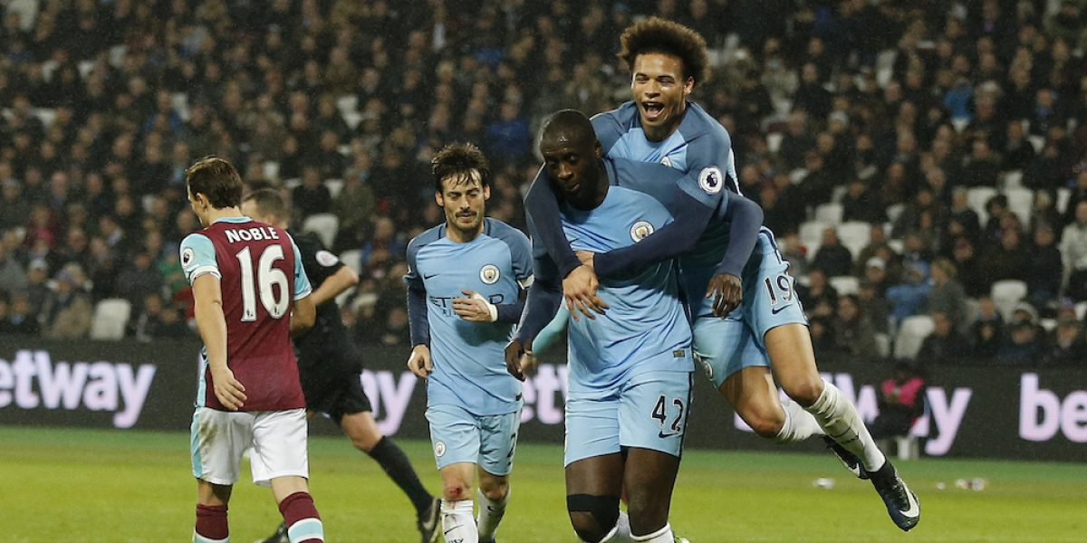 Manchester City reacciona ante el West Ham en la Premier League