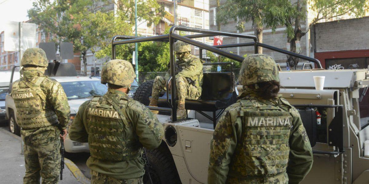 Secuestran a tres marinos en Veracruz