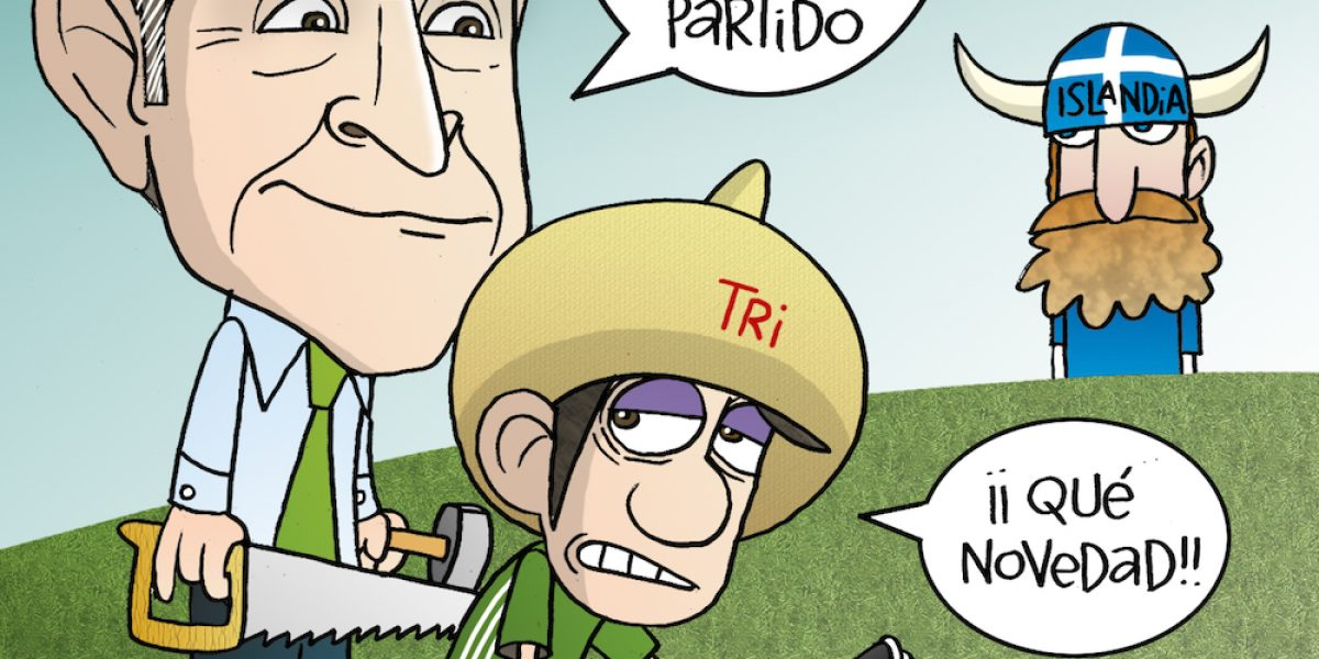 Juan Carlos Osorio y su convocatoria para el juego ante Islandia, el cartón del día