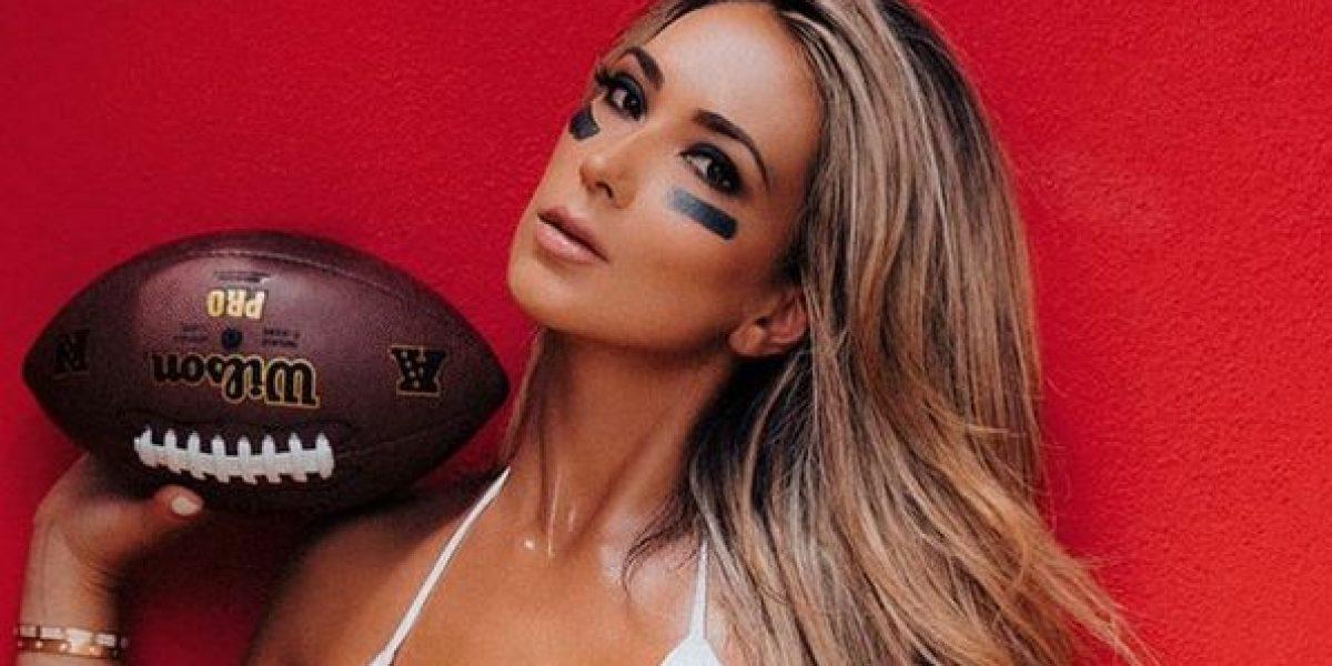Livia Gullo sube la temperatura de cara al Super Bowl