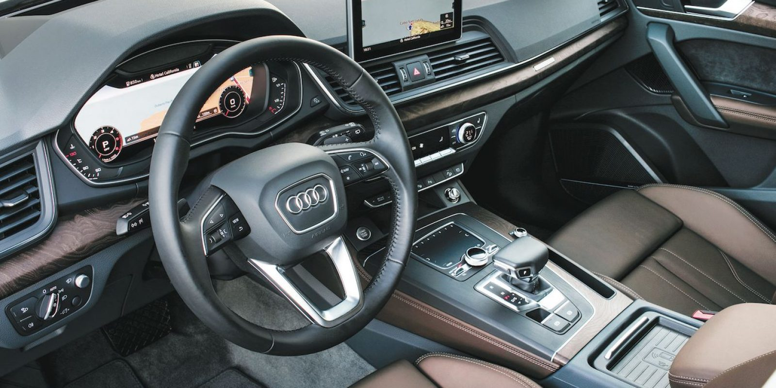 Audi smartphone Interface destaca por su facilidad de uso.| Mau carrera. Imagen Por: Mau Carrera