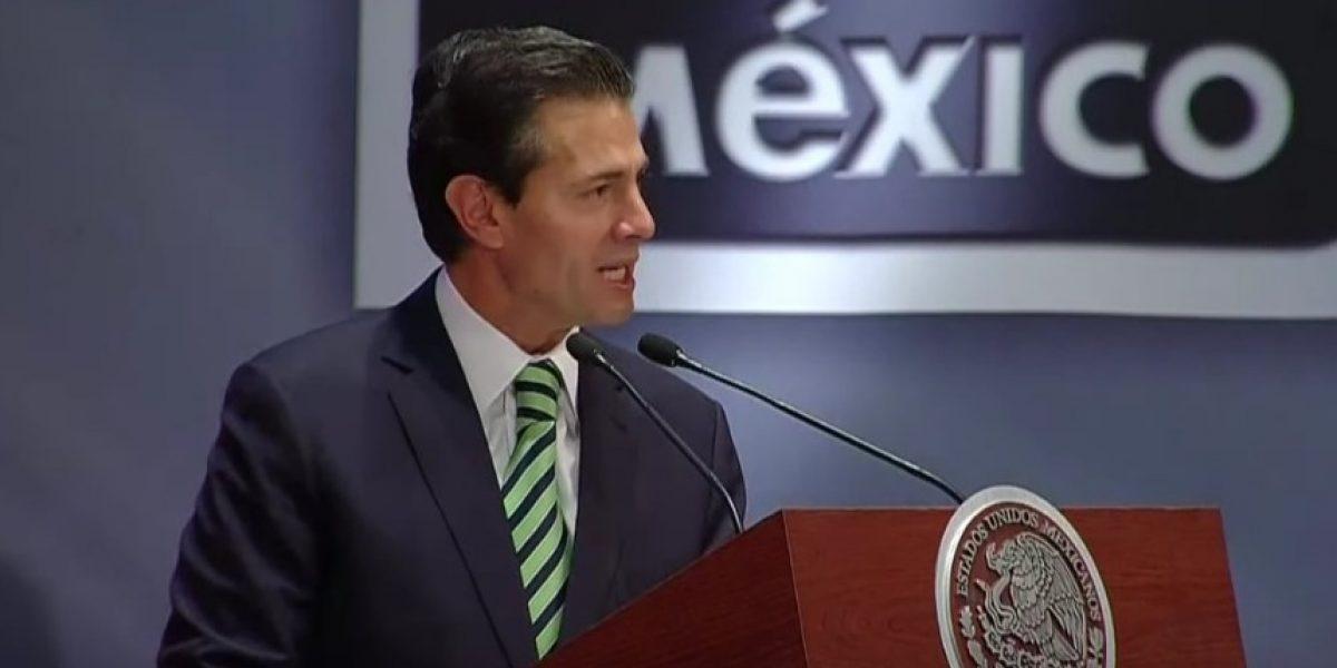 Peña Nieto anuncia inicio de consultas para revisar el TLCAN
