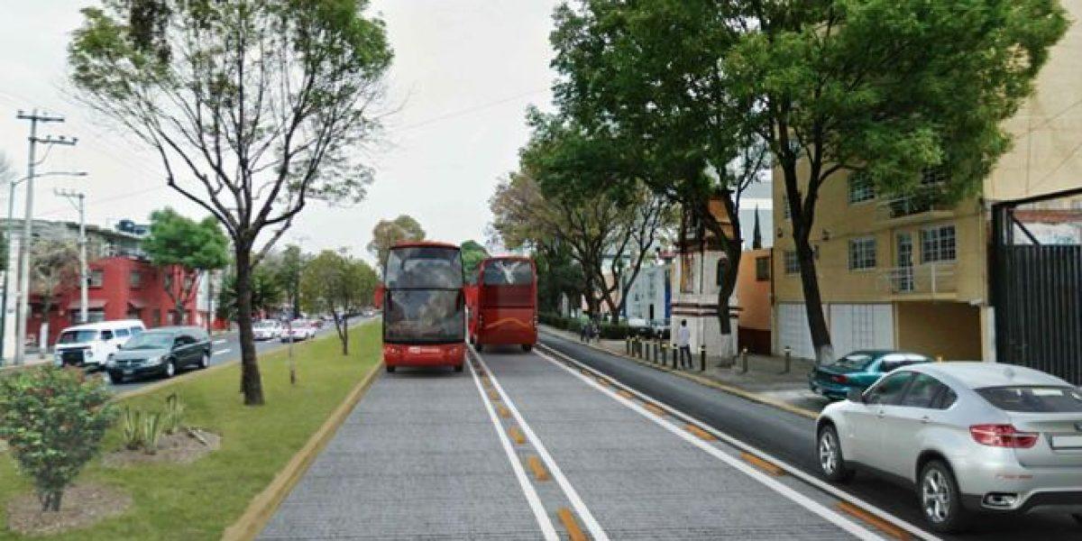 Calzada de los Misterios tendrá intervención mayor por Línea 7 del Metrobús