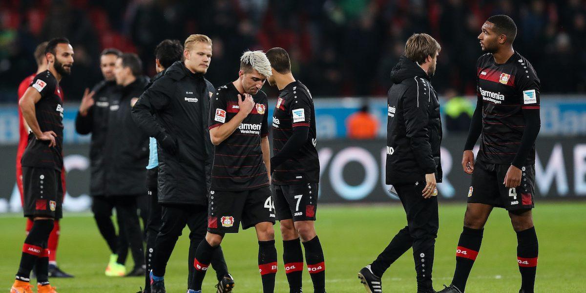 Mal y de malas el Bayer Leverkusen al caer sin