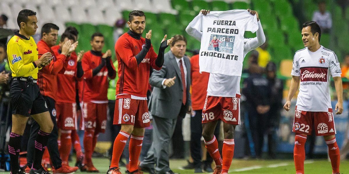 Avilés Hurtado dedica su gol a Yasser Corona