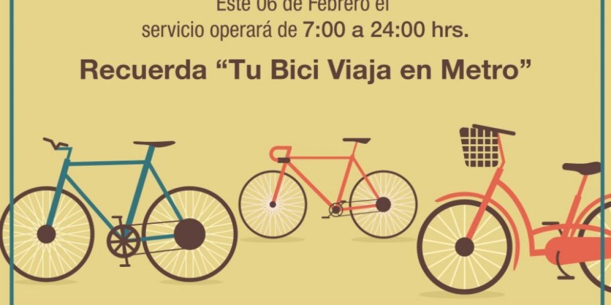 Checa el horario especial que tendrá este lunes el Metro