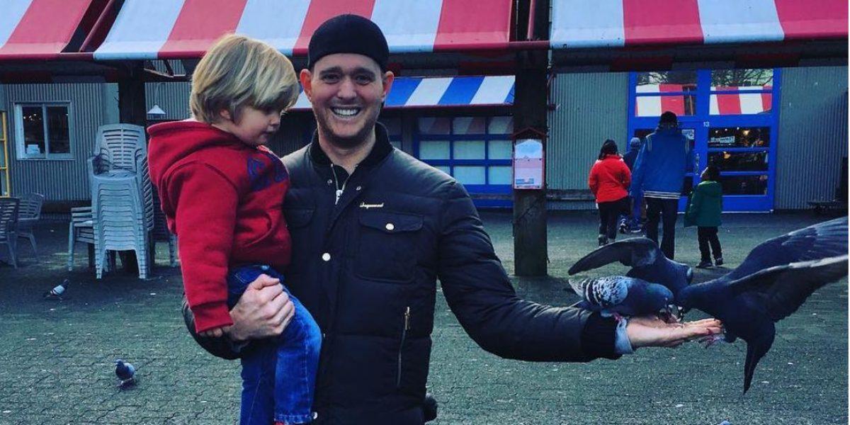 Hijo de Michael Buble evoluciona favorablemente del cáncer