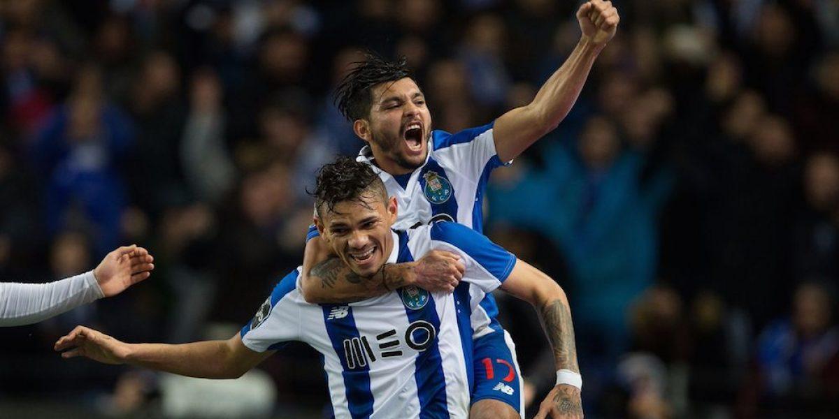 """Con asistencia del """"Tecatito"""" Corona, Porto gana y es líder en Portugal"""