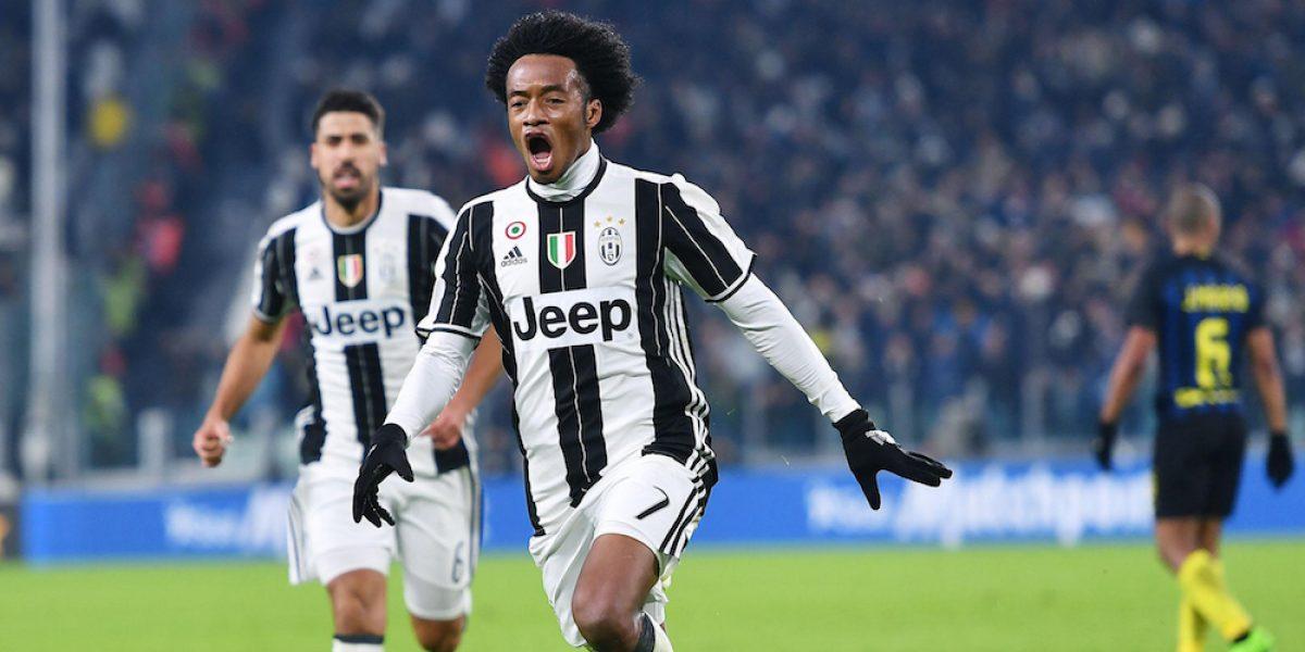 Juventus vence al Inter en el 'Derbi de Italia'