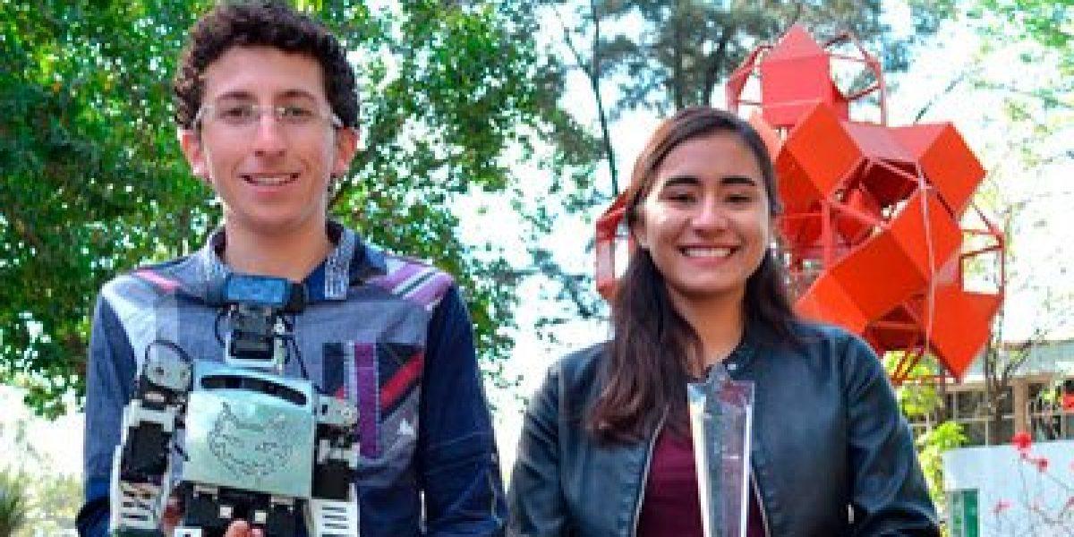 Mexicanos ganan premio de robótica en China