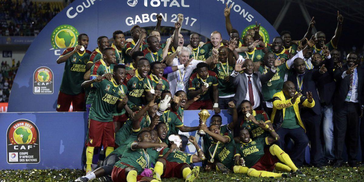 Camerún remonta y se corona en la Copa Africana de Naciones