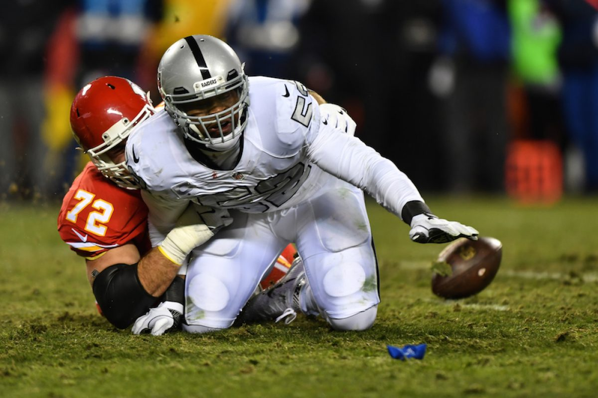 © 2016 Getty Images. Imagen Por: MEJOR DEFENSIVO: KHALIL MACK (Oakland Raiders) / Getty Images
