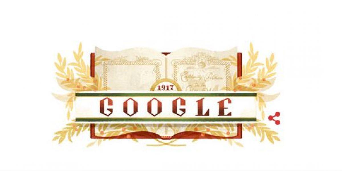 Google celebra aniversario de la Constitución