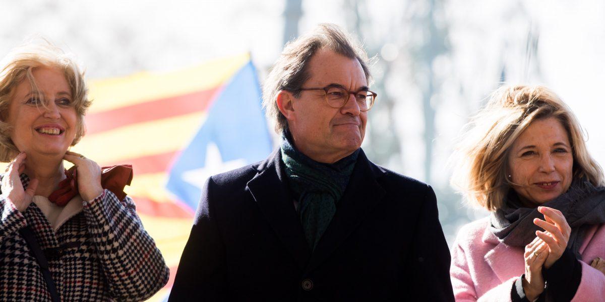 Enjuician a Artur Mas, impulsor de la consulta independentista de Cataluña