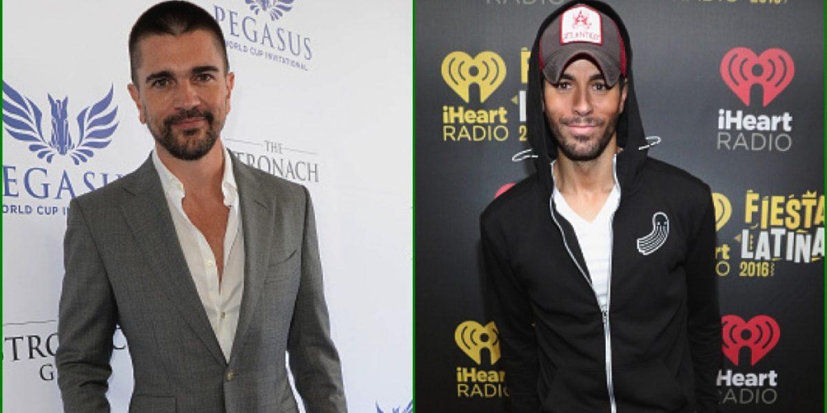 Juanes y Enrique Iglesias nominados al Salón de la Fama