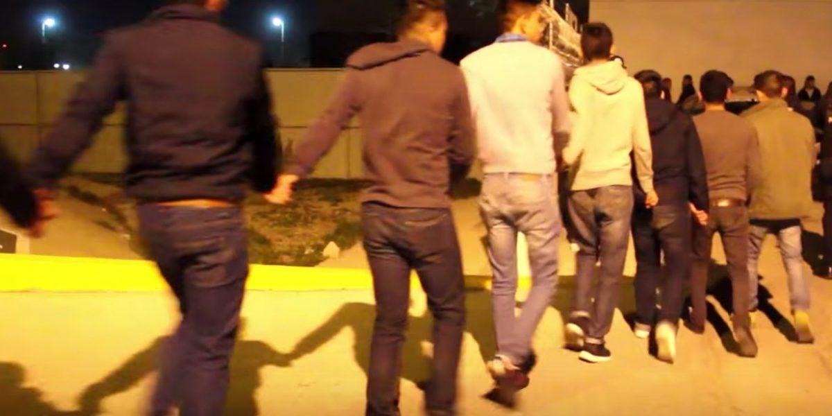 Detienen a 400 menores de edad en una fiesta convocada por Facebook