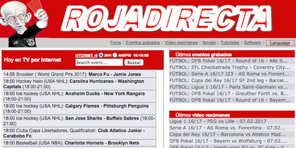 """Juez ordena el cierre total del sitio web """"Roja Directa"""""""