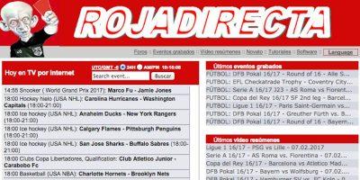 Un juzgado coruñés acuerda el cierre definitivo de la web Rojadirecta