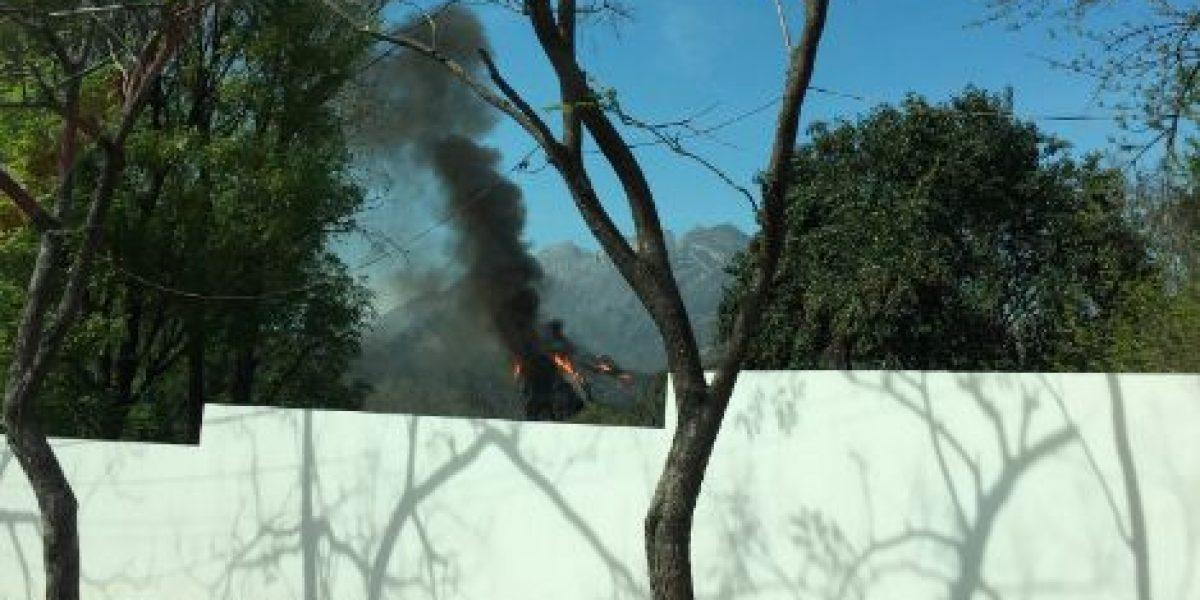 Se incendia Planetario Alfa en San Pedro Garza García