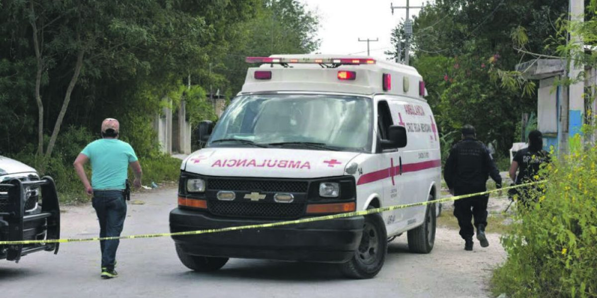 Balaceras en zona norte de Quintana Roo dejan dos muertos