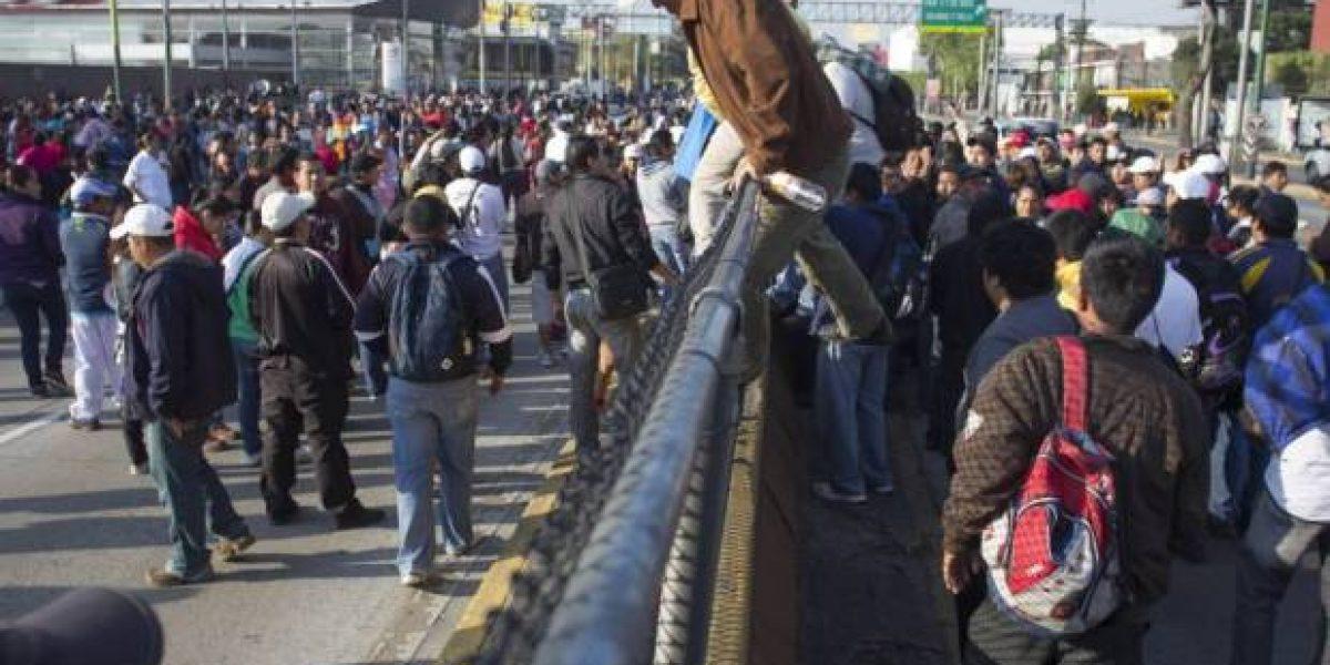 La polémica que divide a la megamarcha contra Trump en México