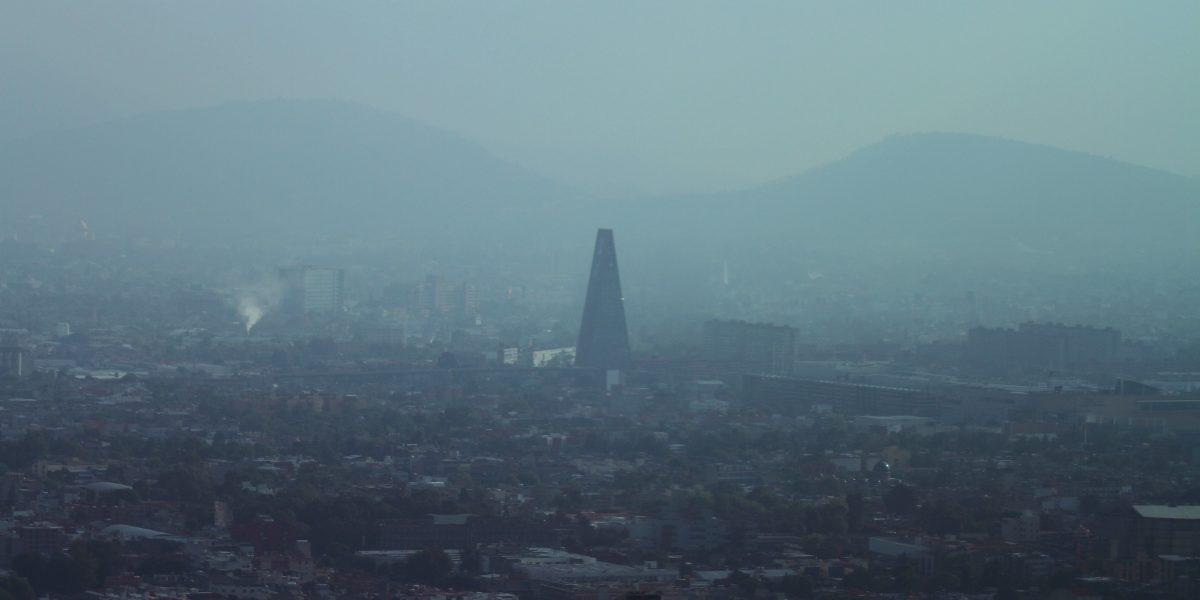 CDMX amanece con mala calidad del aire