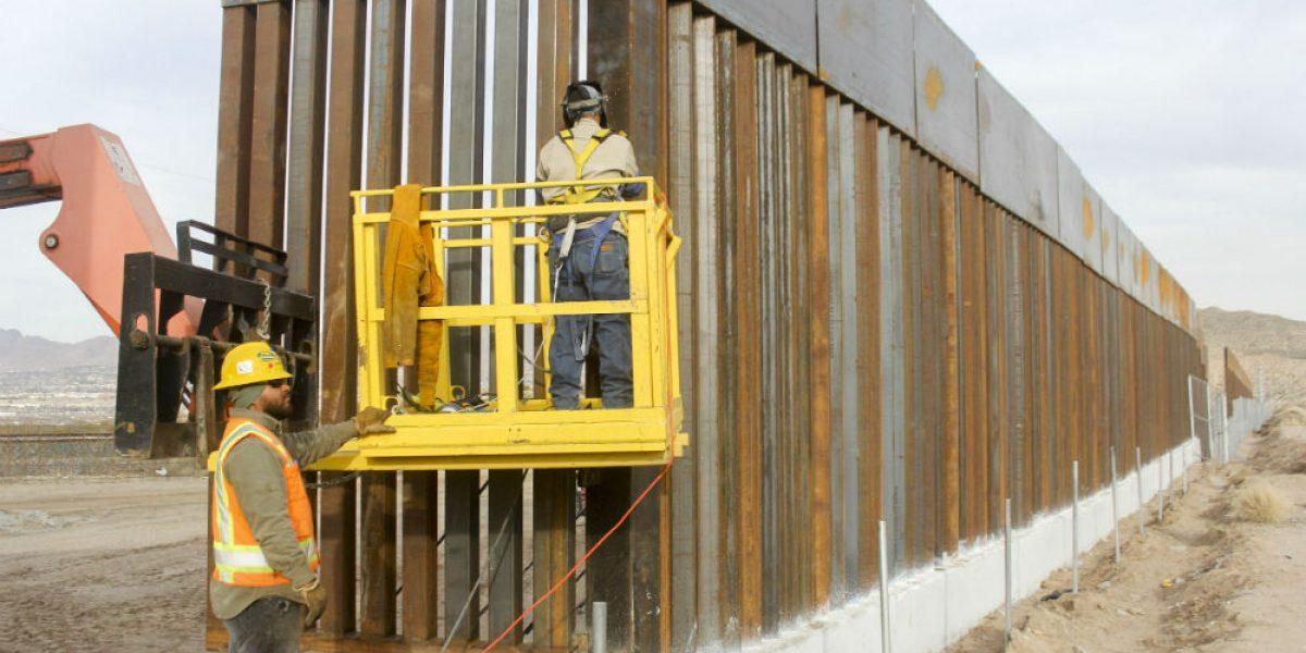 Problemas geológicos ponen en riesgo construcción del muro fronterizo