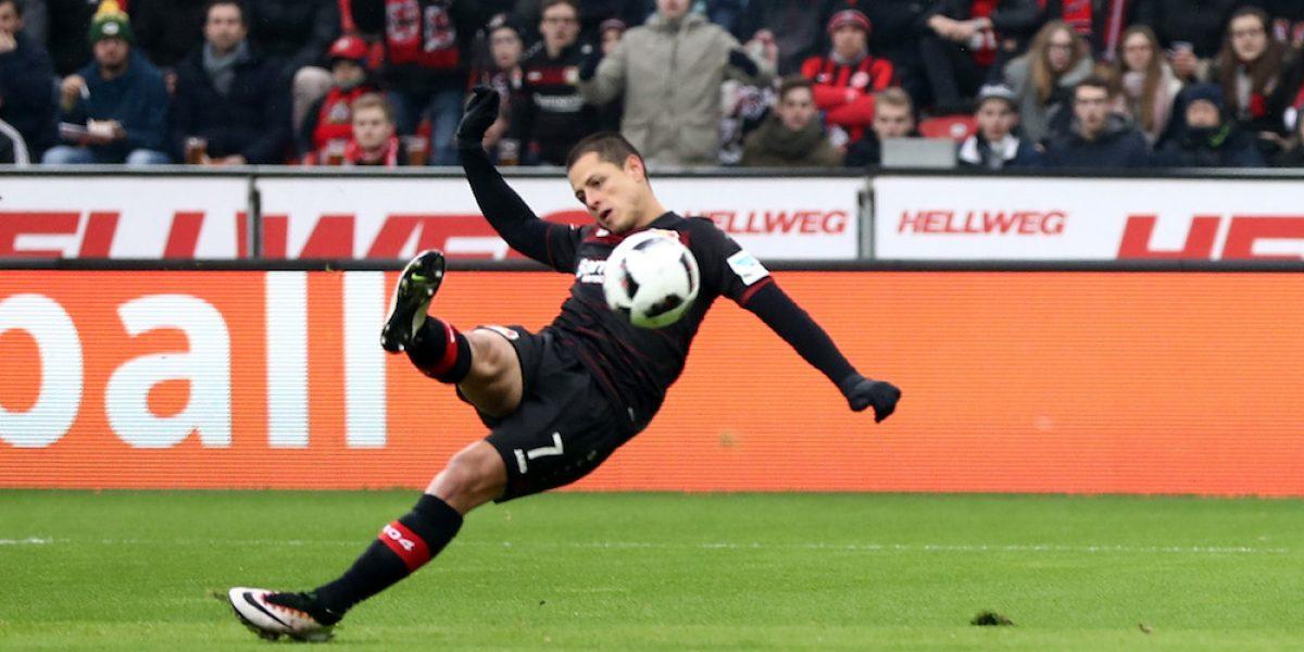 Chicharito es elegido jugador de la jornada
