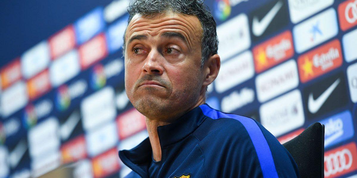Luis Enrique acepta culpabilidad por derrota del Barça: