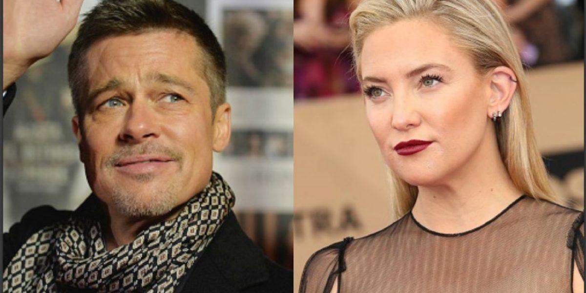 Brad Pitt y Kate Hudson son novios, revela mamá de la actriz