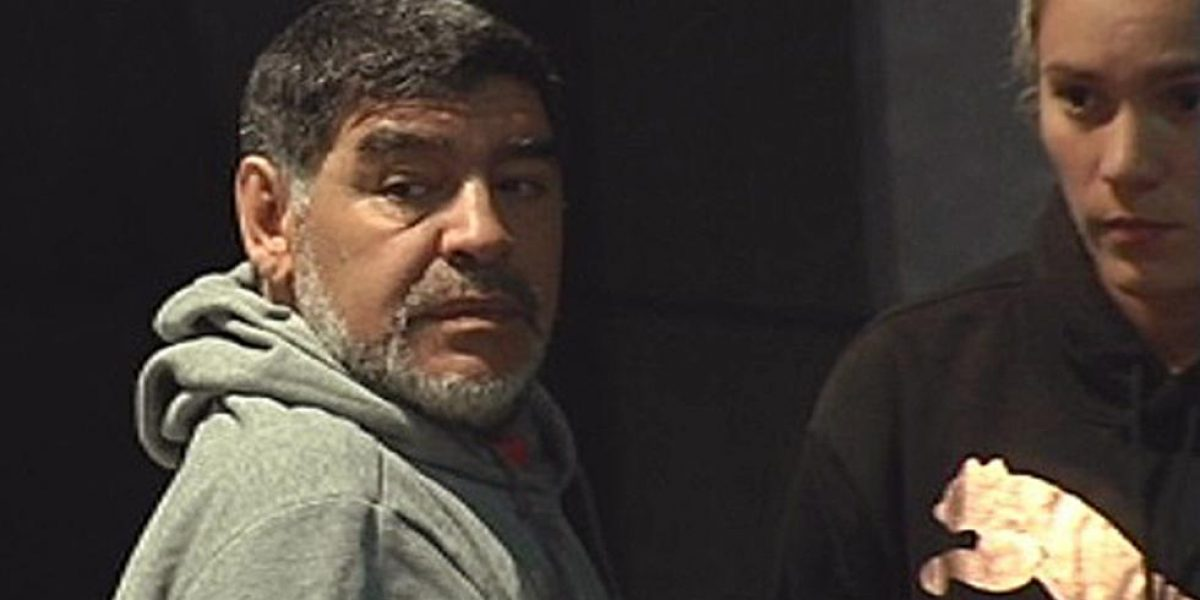 Policía acude al hotel de Maradona por sospechas de agresión a su pareja