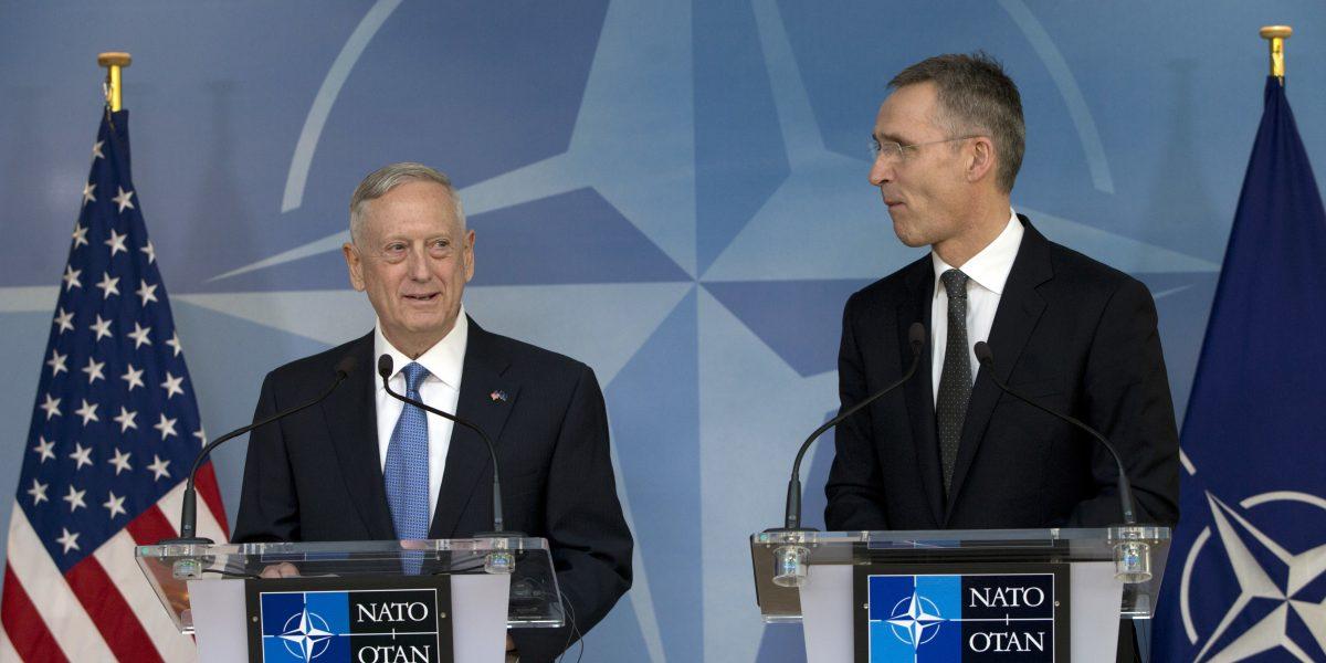 Tras críticas de Trump, OTAN tiene su primera cita con nuevo jefe del Pentágono