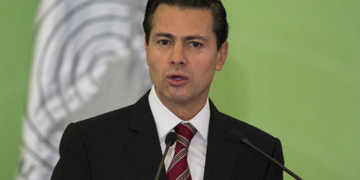 Peña Nieto recibe en Los Pinos a empresa ganadora de Red Compartida