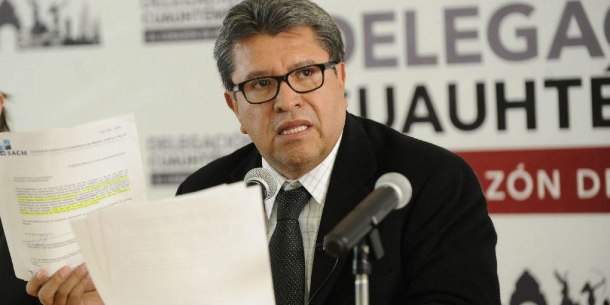 Ricardo Monreal otorgó contratos millonarios a amigos de su hija