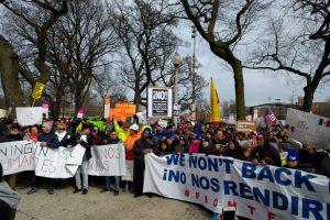 #UnDíaSinInmigrantes en Chicago. Imagen Por: Foto: Omar Pérez, enviado especial
