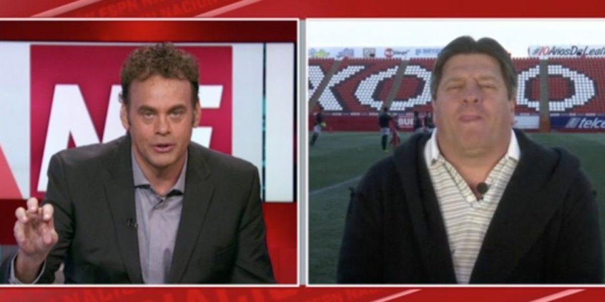 David Faitelson trollea a Miguel Herrera en pleno programa en vivo