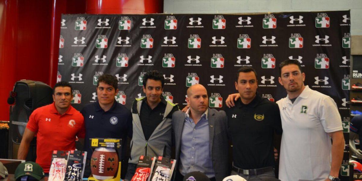 Presentan la segunda temporada de la LFA México