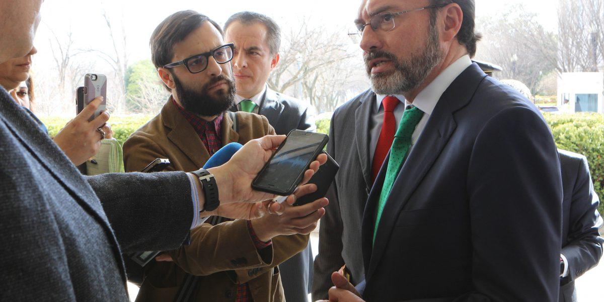 México y EU trabajan por una relación constructiva: Videgaray